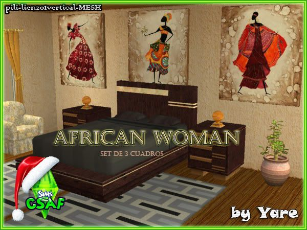 :: CSAF CALENDAR ADVENT DIA 21 :: Africanwoman_by_yare