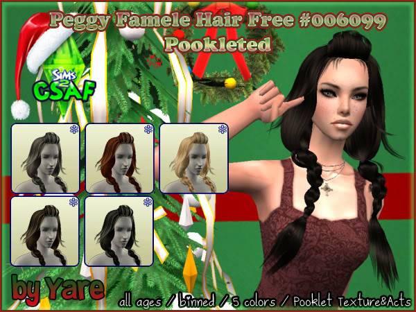 :: CSAF CALENDAR ADVENT 2010 :: DIA 1 ::  Hairfamele01