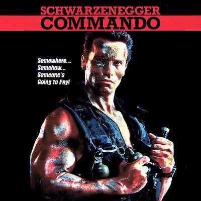 Bionic Comando CommandoPoster
