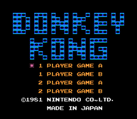 Donkey Kong 1981 Arcade Game DonkeyKong-0