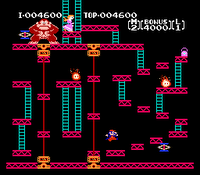Donkey Kong 1981 Arcade Game DonkeyKong-01