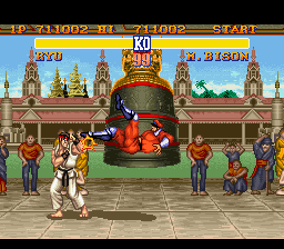 Analisis Street Fighter II Bison21