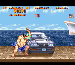 Analisis Street Fighter II Coche