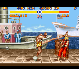 Analisis Street Fighter II Dhalsim2