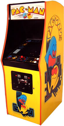 Pac-Man... Gamemachine