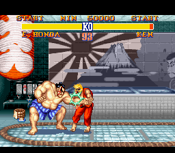 Analisis Street Fighter II Honda2