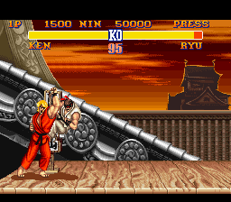 Analisis Street Fighter II Ken2