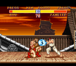 Analisis Street Fighter II Ryu2