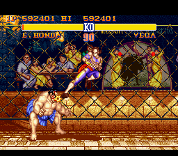 Analisis Street Fighter II Vega21