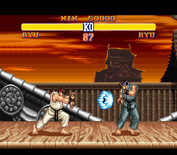 Analisis Street Fighter II Vsbattle3