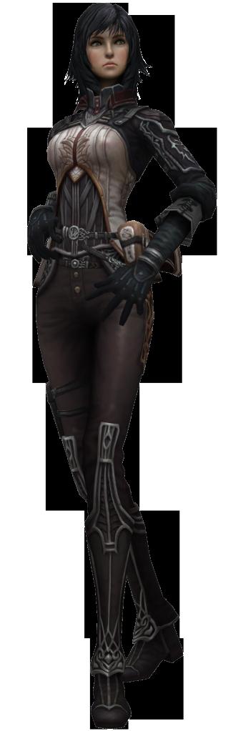 Characters: Mercenaries CalyceCasual1