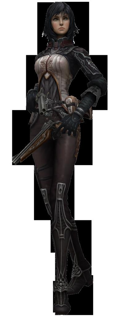 Characters: Mercenaries CalyceCasual2