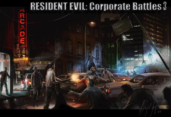 Resident Evil Corporate Battles 3