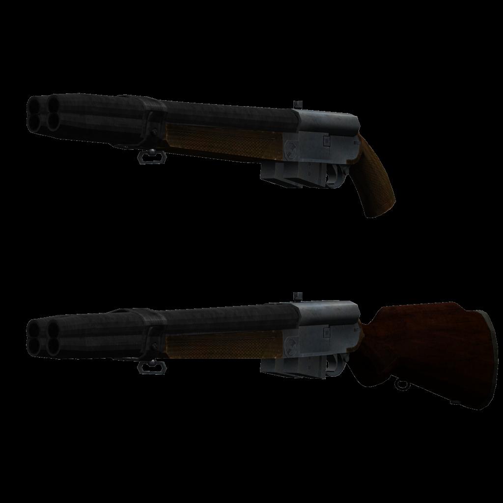 "Default: ""Clover"" Shotgun CloverShotgun.png?t=1359140717"