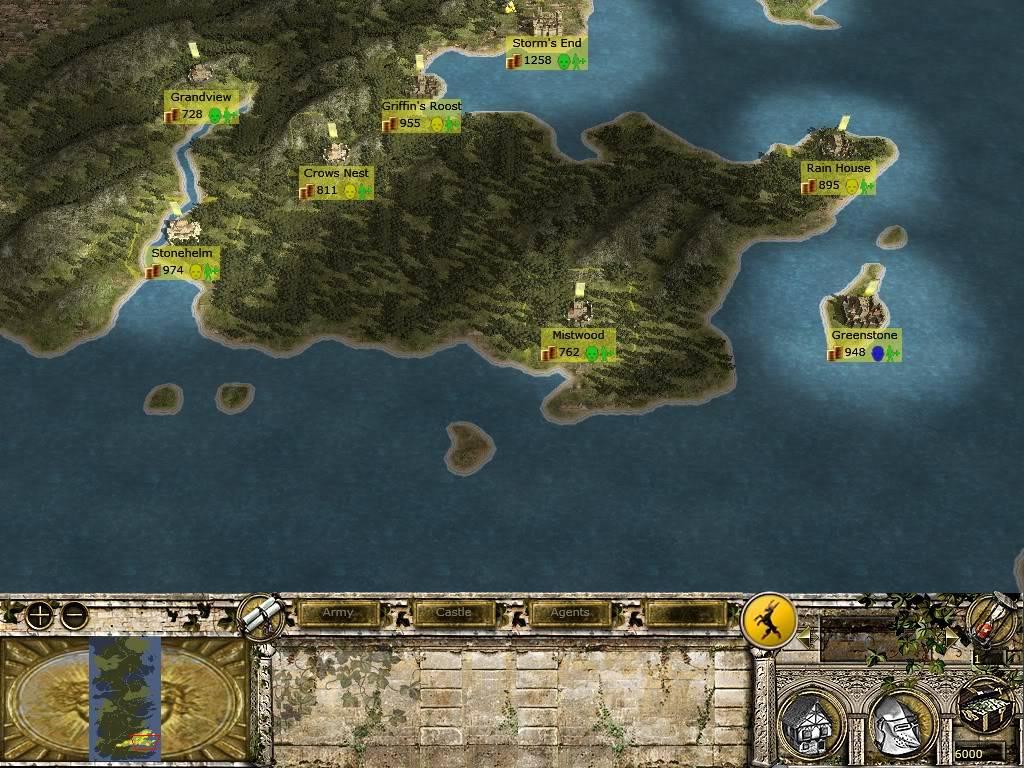 Бурен край - благородни домове и кратко описание Map2
