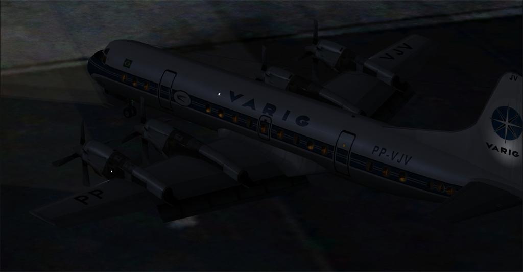 Imagens noturnas do Electra 1-29