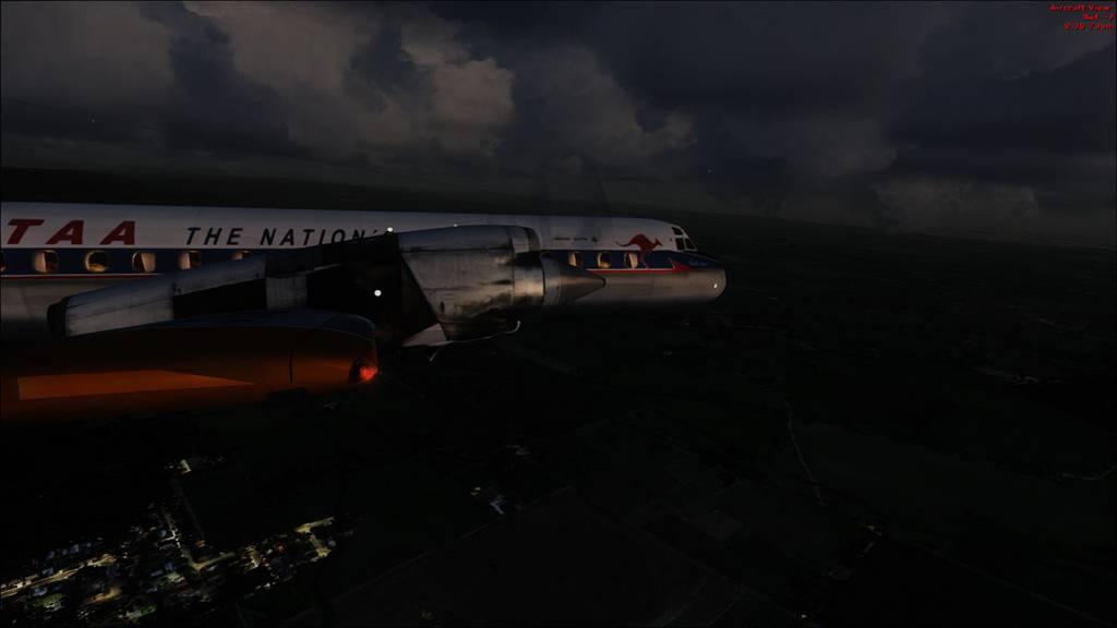 Electra TAA sobrevoando Austrália  10a