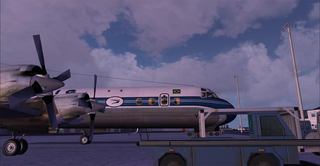 Electra II se preparando para decolar de Congonhas 2-30