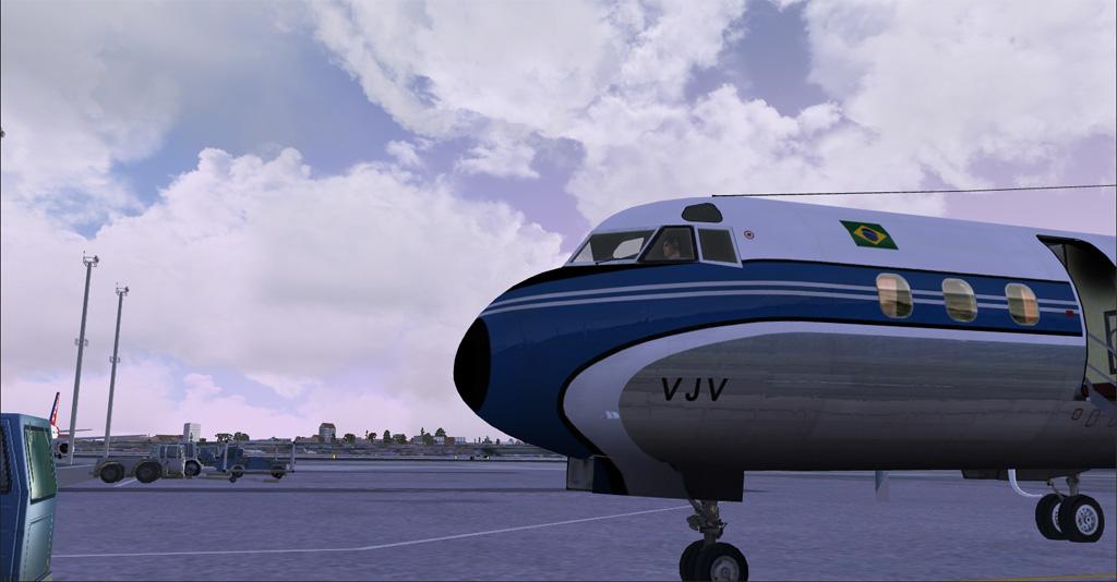 Electra II se preparando para decolar de Congonhas 4-27