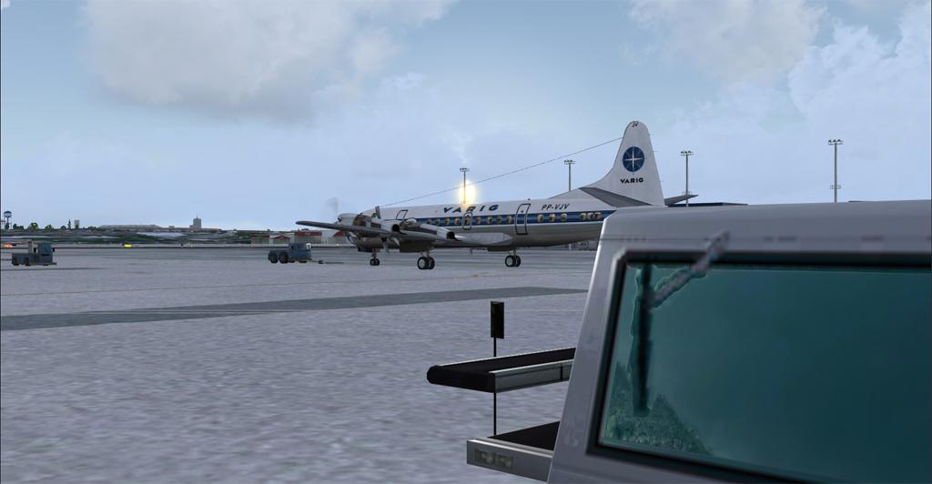 Electra II se preparando para decolar de Congonhas 5-20