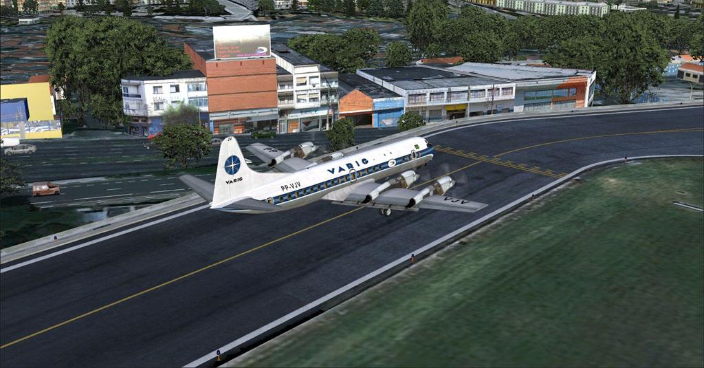 Electra II se preparando para decolar de Congonhas 7-20
