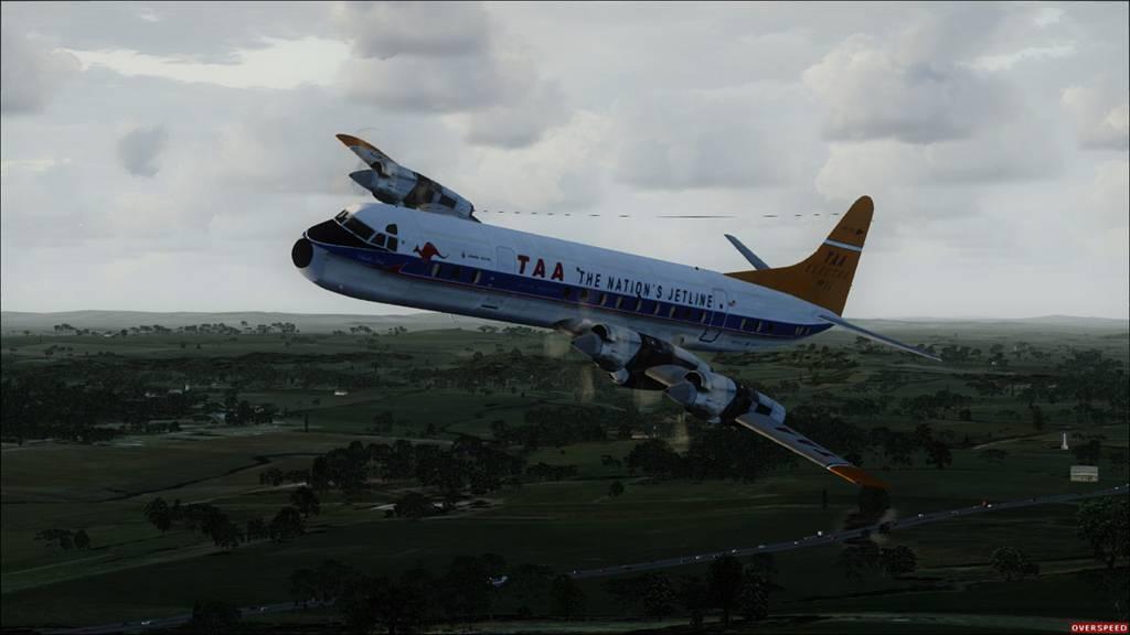 Electra TAA sobrevoando Austrália  7a