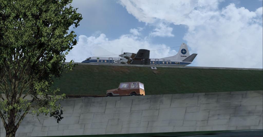 Electra II se preparando para decolar de Congonhas 8-18