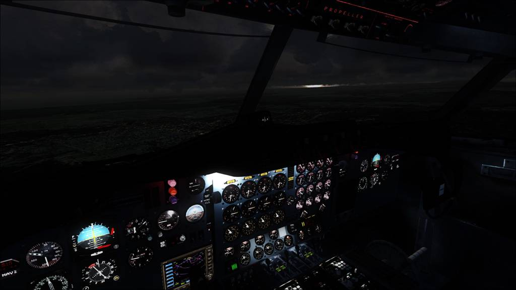 Electra TAA sobrevoando Austrália  8a