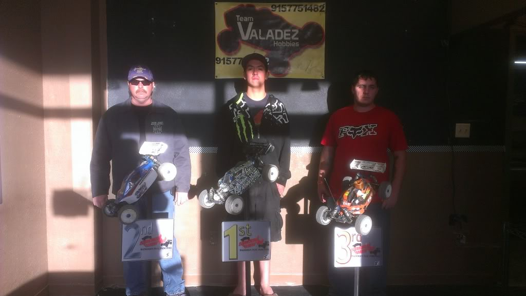 Saturday 2-23-2013 Speed World Club Race Results 8thScaleELECTRICBUGGY