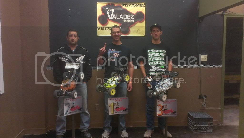 Speed World R/C Raceway WEEK 5 MAR 2, 2013 POINTS SERIES RACE RESULTS/STANDINGS/PODIUM PICS/RACE SHEETS 8thScaleELECTRICBUGGY-1
