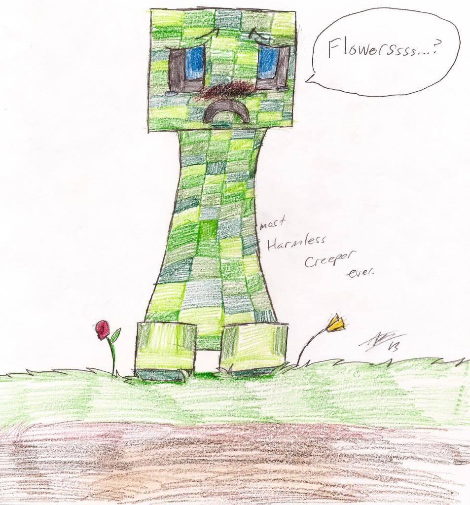 ♥ Random/free/ Art dump of Y-Tiger/Doom ♥ -Closed- - Page 2 CreeperFancharacter_zps5f78fb6b