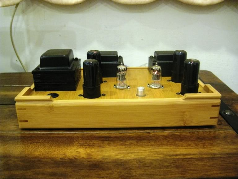 ArtChamber Zephyr 6P Push Pull Tube Amplifier (New) SOLD 6V634023