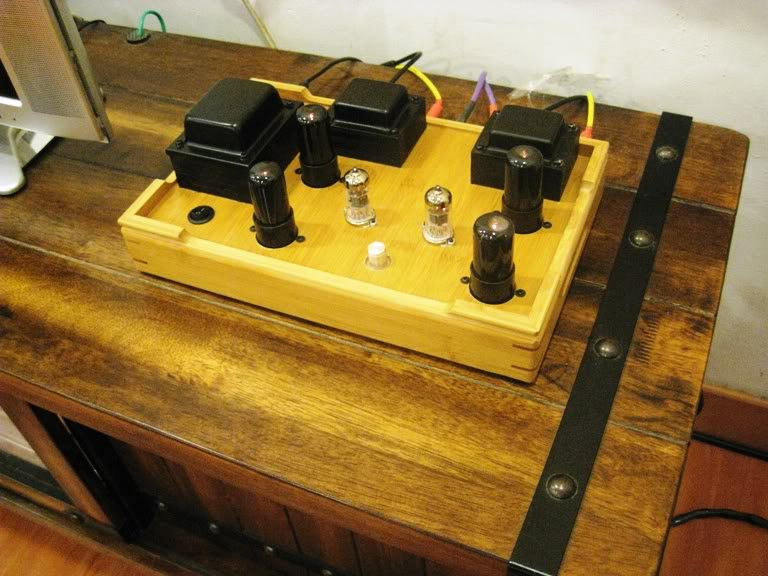 ArtChamber Zephyr 6P Push Pull Tube Amplifier (New) SOLD 6V634027