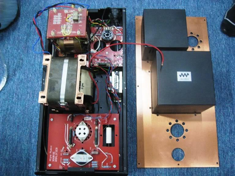 Alps Music Audio Note Mono Block 300B Power Amplifier (Used) AN300BI
