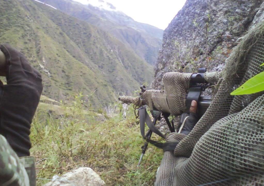 EL TEMIBLE SOLDADO PERUANO: COMANDOS, FRANCOTIRADORES Y FUERZAS ESPECIALES - Página 2 Sniper