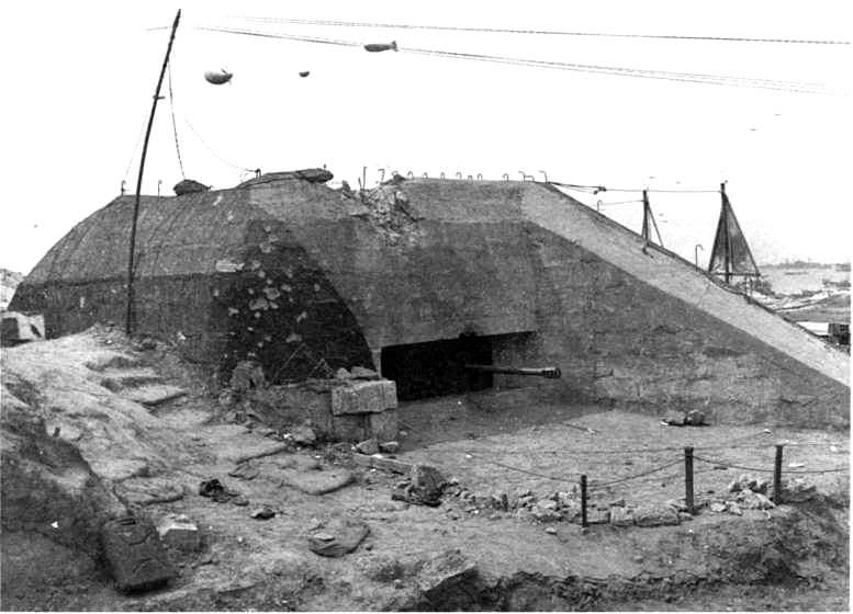 Pak 50 mm à St Laurent sur Mer LD123-p147-Ruquetcanon501