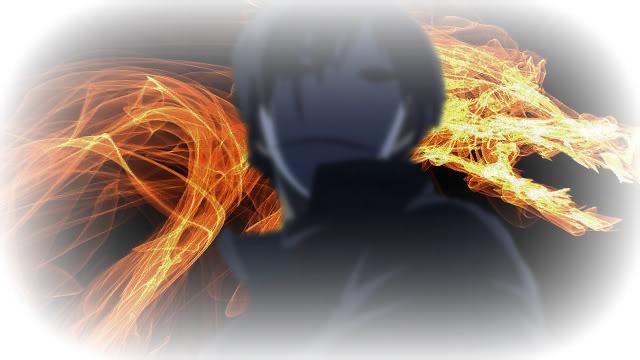 A lone flame (Open) Dark-Hei
