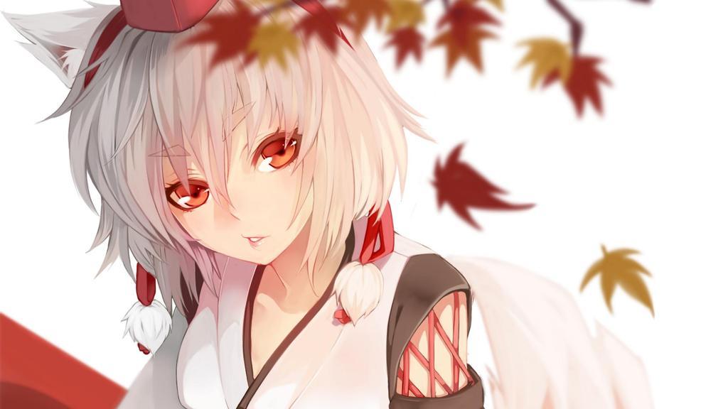 Kameko Amakudari; Nostalgia's Outlaw [2016-2017 REWORK][HEAVY WIP] Anime-girls-anime-wolf-girls-touhou-inubashiri-momiji-1080P-wallpaper_zpsdroofluv