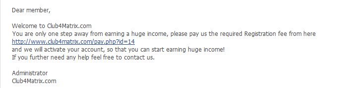 Club4Matrix إعلن عن مواقعك واحصل على 1$ عن كل ريفيرال بنظام الماتريكس 2-17