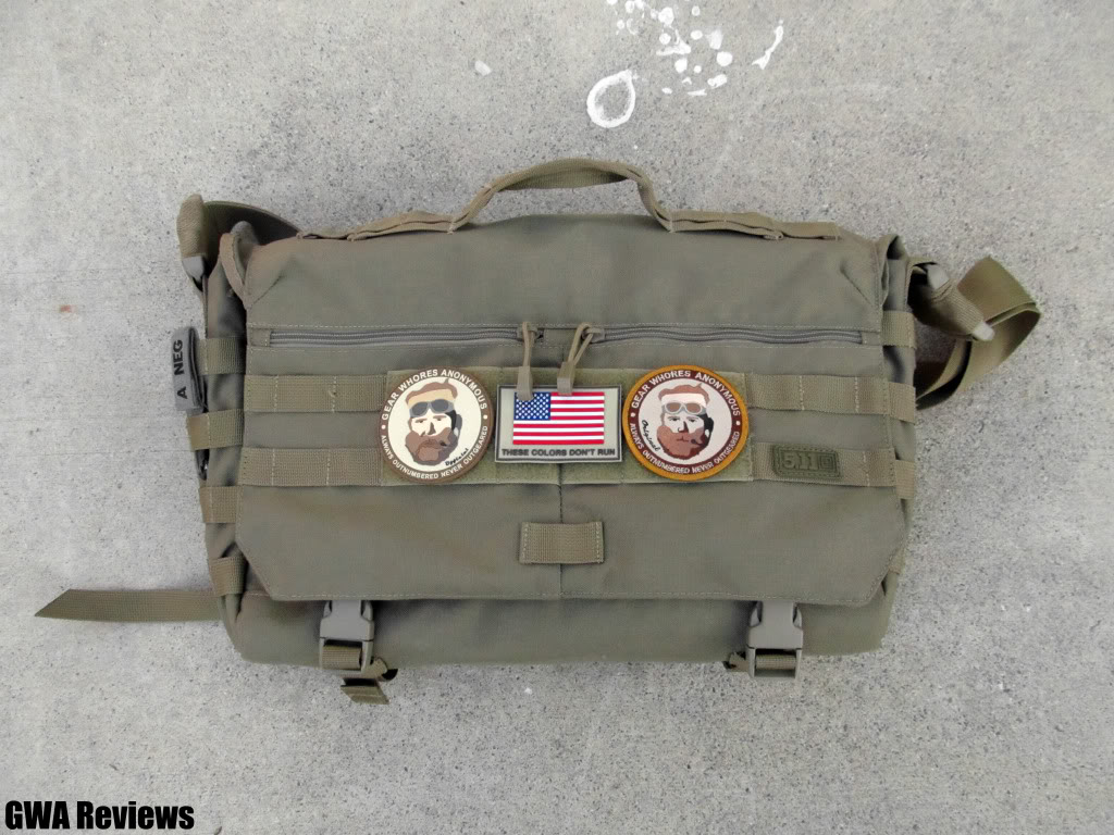 5.11 Tactical Rush Delivery Messenger Bag IMG_0073copy
