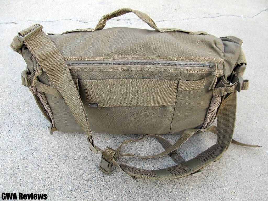 5.11 Tactical Rush Delivery Messenger Bag IMG_0126copy