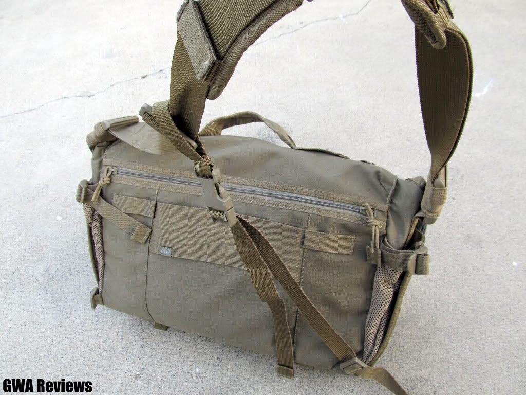 5.11 Tactical Rush Delivery Messenger Bag IMG_0127