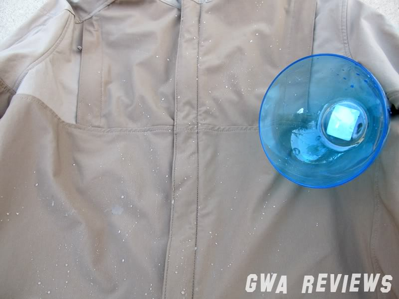 Massif ITJ Soft Shell Jacket - Updated with water test, scroll all the way down Aftershake