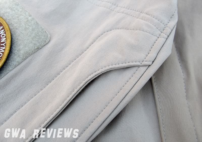 Massif ITJ Soft Shell Jacket - Updated with water test, scroll all the way down ArmPocketSeal