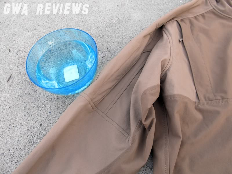 Massif ITJ Soft Shell Jacket - Updated with water test, scroll all the way down BowlandJacket