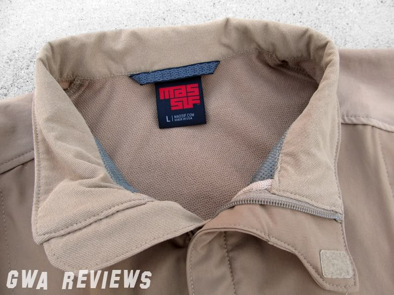 Massif ITJ Soft Shell Jacket - Updated with water test, scroll all the way down CollarFolded