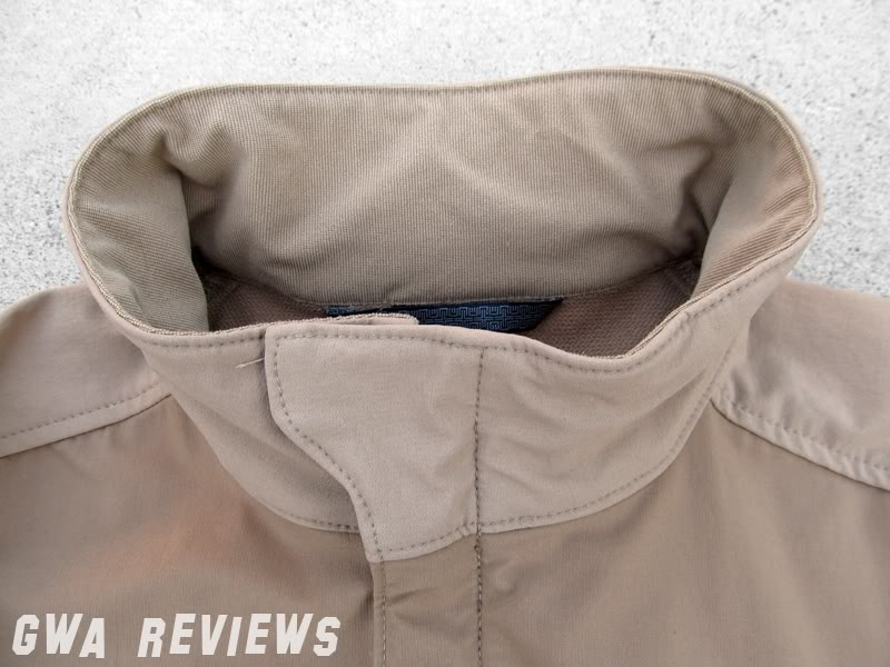 Massif ITJ Soft Shell Jacket - Updated with water test, scroll all the way down CollarUp