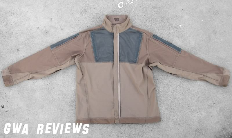 Massif ITJ Soft Shell Jacket - Updated with water test, scroll all the way down FrontInsideOut