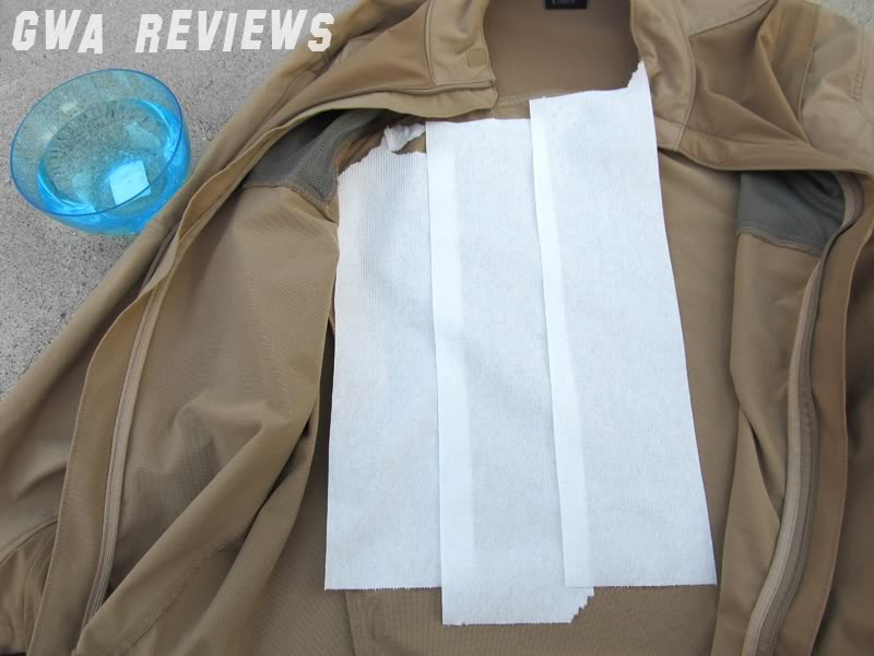 Massif ITJ Soft Shell Jacket - Updated with water test, scroll all the way down JacketandTP