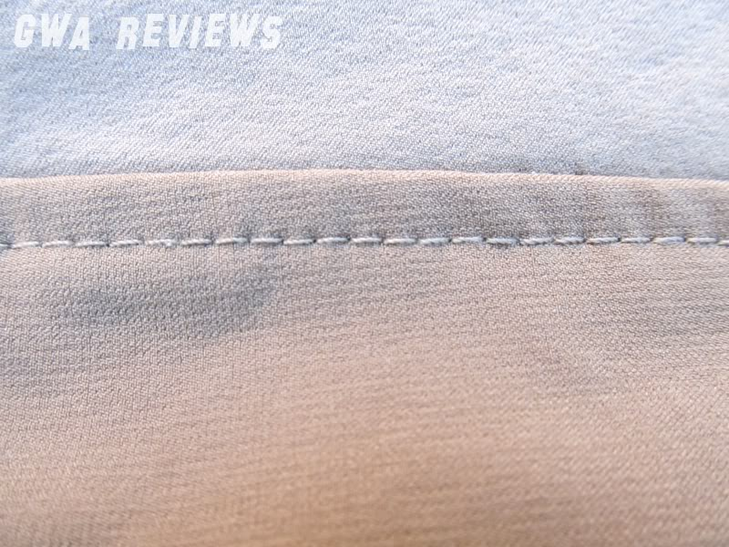 Massif ITJ Soft Shell Jacket - Updated with water test, scroll all the way down Stitching01